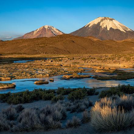 Golden volcanos