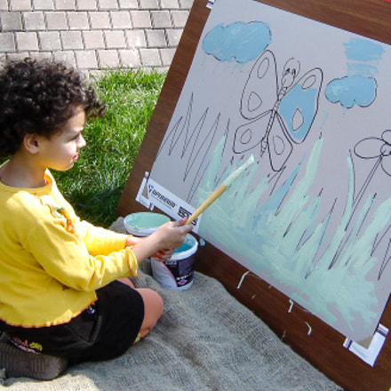 Little painter, Sony DSC-S60