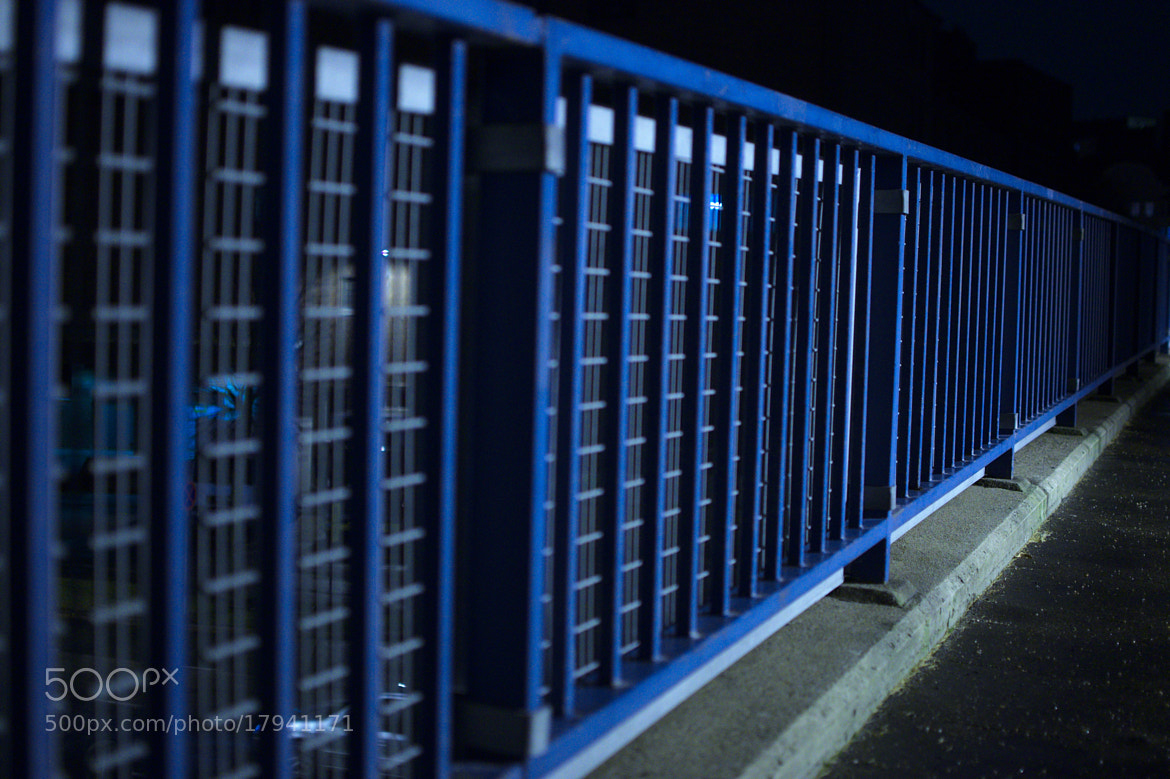 Photograph blue lines by J K on 500px