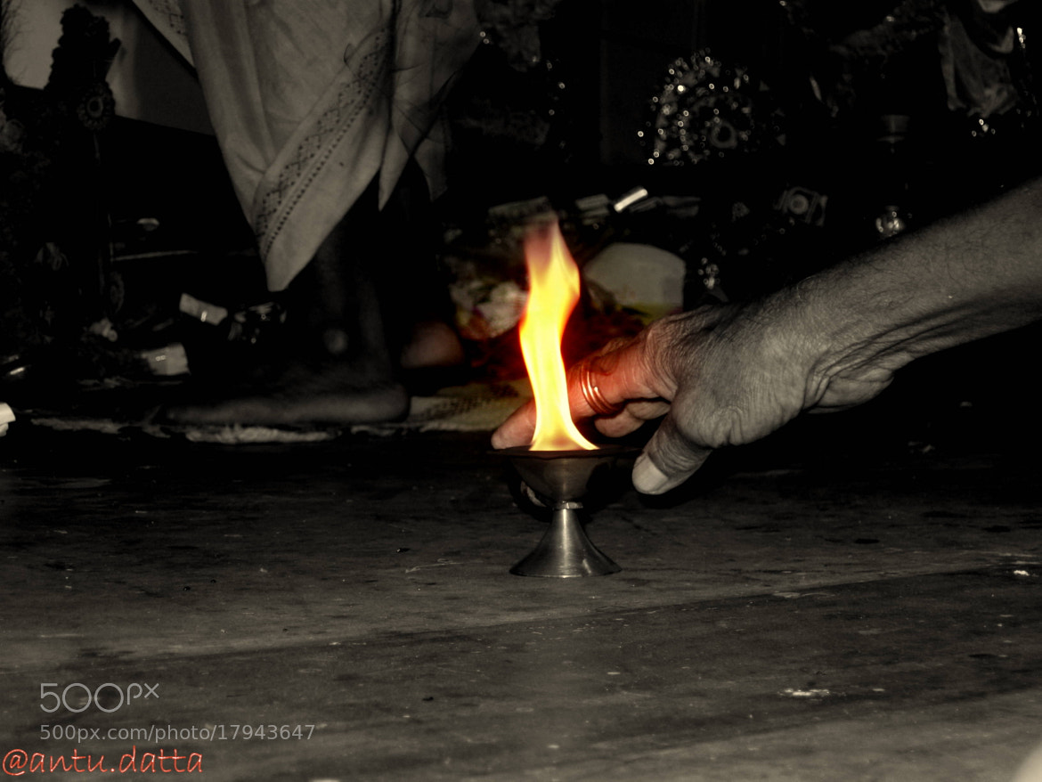 Photograph THE FLAME   by ANTU DATTA on 500px