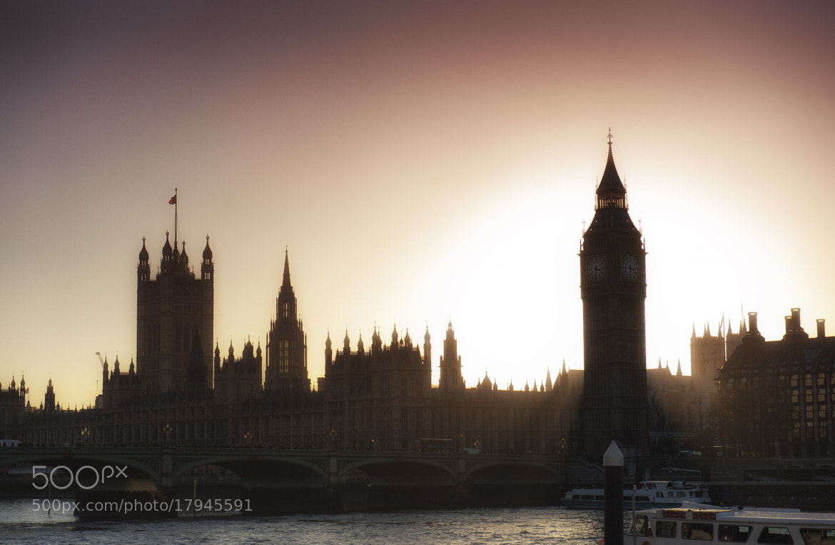 Photograph Westminster sunset by Chris Kench on 500px