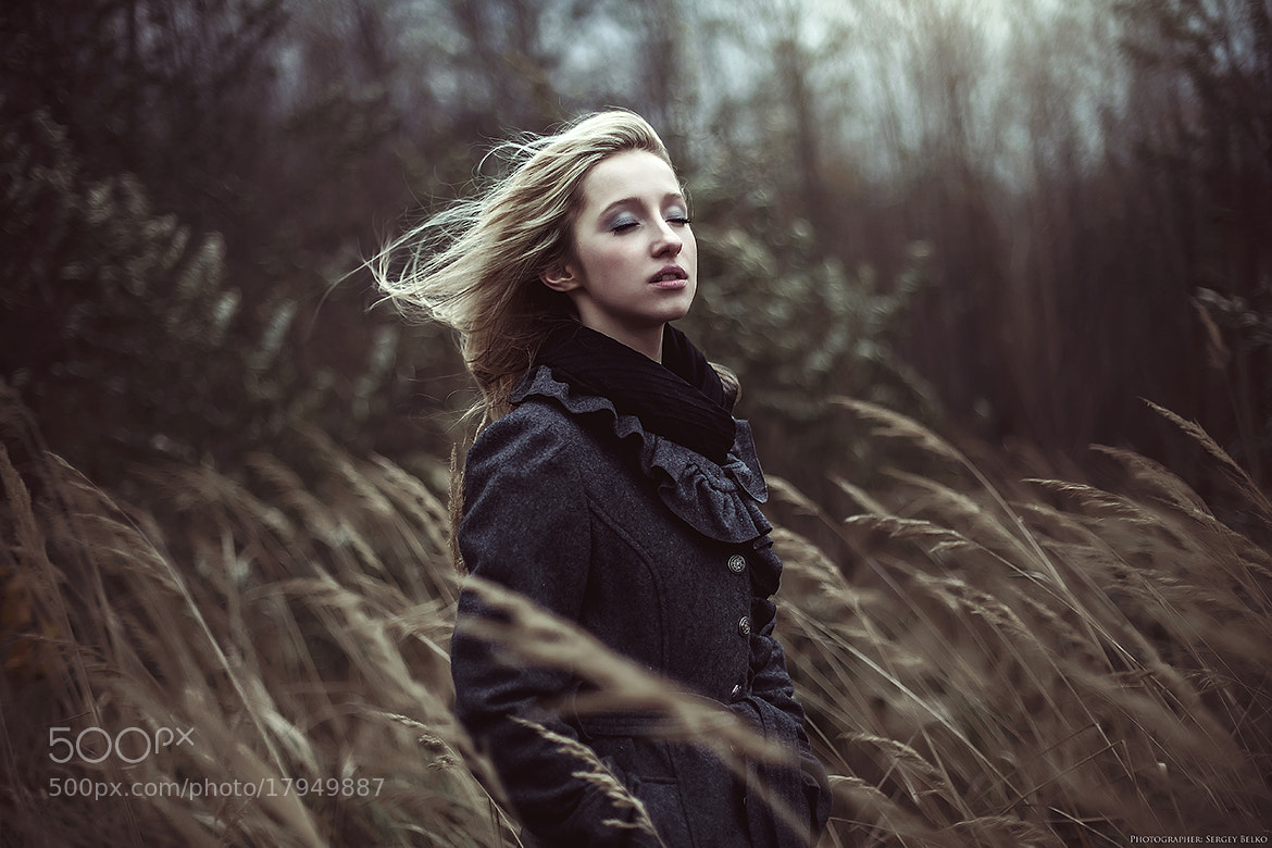 Photograph girl wind by Сергей Белько on 500px