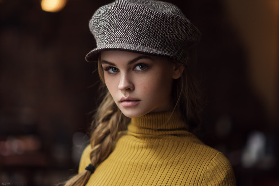 Brigitte B. by Maxim  Guselnikov on 500px.com