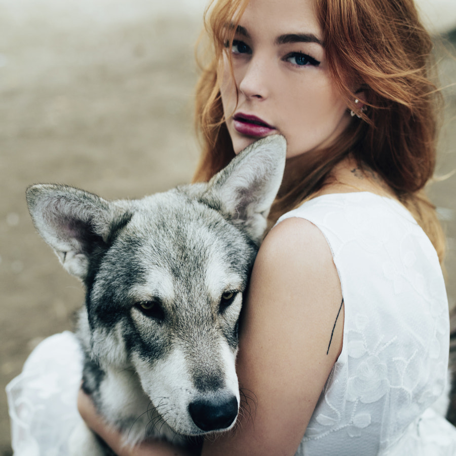 Girl wolf by Jovana Rikalo on 500px.com