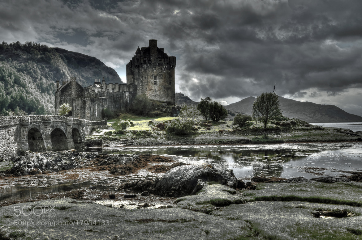 Photograph Eilean Donan Castle in HDR by Michael Lüdtke on 500px