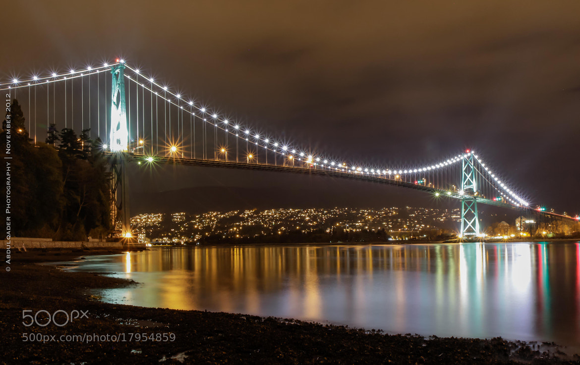 Photograph The Lion's Gate | Vancouver BC by ShadowLight Photography on 500px
