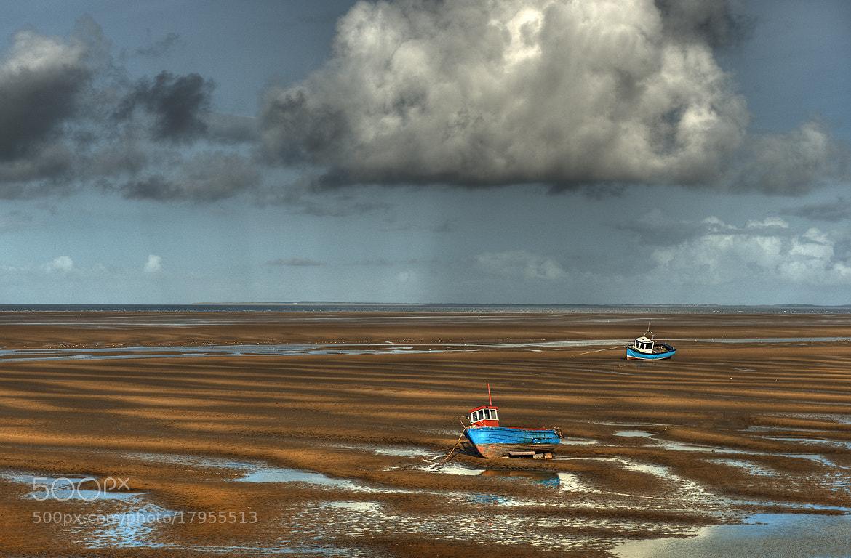 Photograph Meols Beach Boats by Jason Merrin on 500px