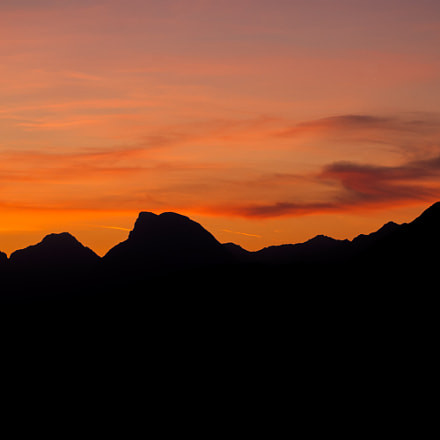 Sunset in Austria, Nikon D70, Sigma 28-70mm F3.5-4.5 UC
