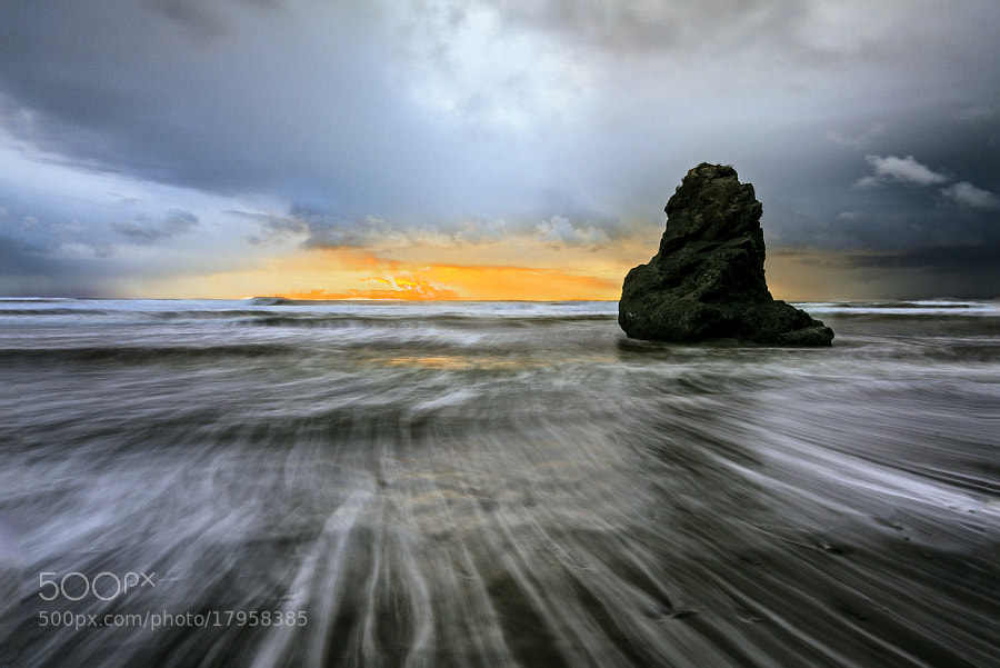 Stormy beach sunset I. by Lubos Bruha (lubosbruha)) on 500px.com