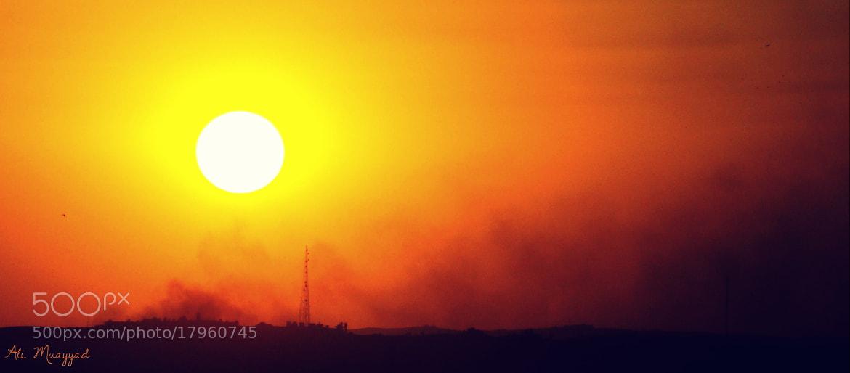 Photograph Sunset by Ali  Muayyad on 500px