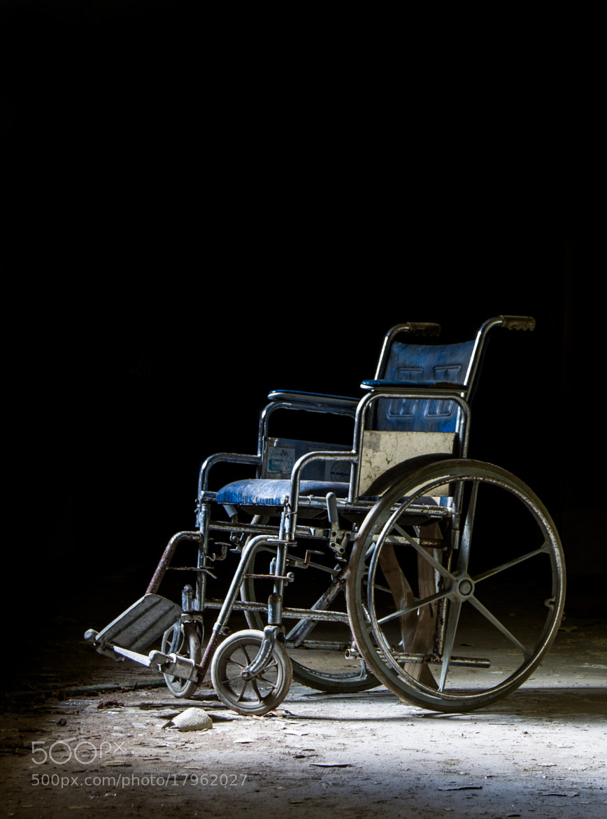 Photograph Wheelchair in the tunnels by Kurt Tavares on 500px