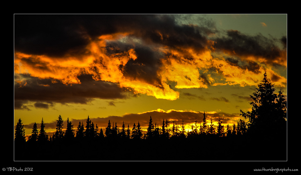 Photograph Heaven's on fire by Thore Bryhn on 500px