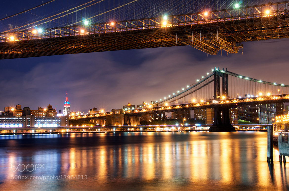 Photograph Bridges to the Empire State by Dan Goldberger on 500px