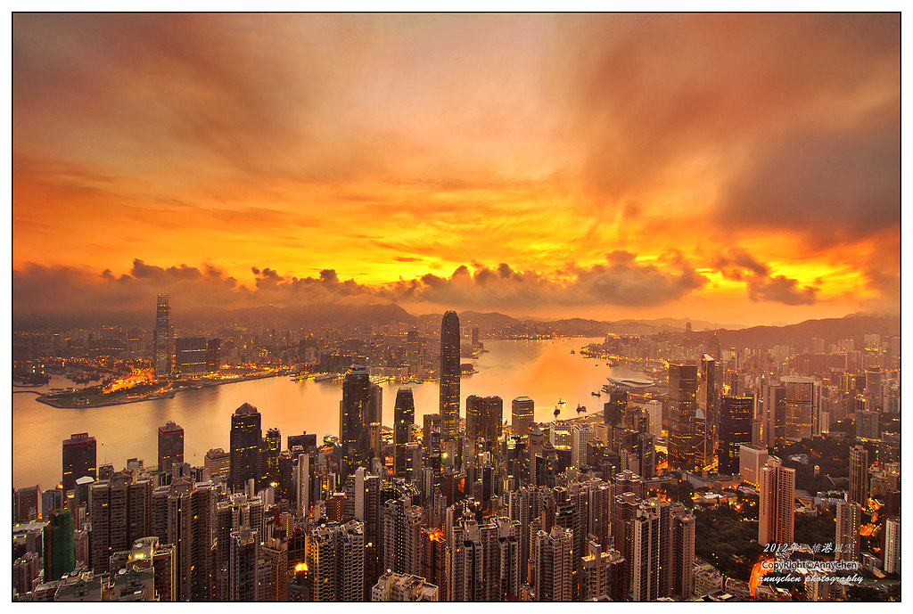 Photograph Sunrise by Anny Chen on 500px