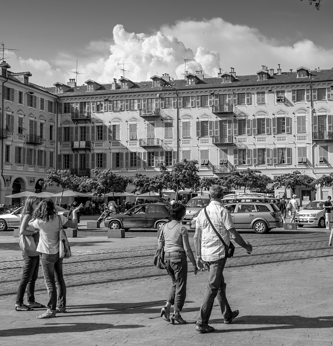 Photograph Nice Plaza by Victor Hanna on 500px