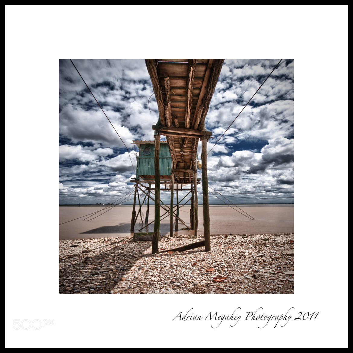 Photograph Fishing Hut, Gironde by adrian megahey on 500px