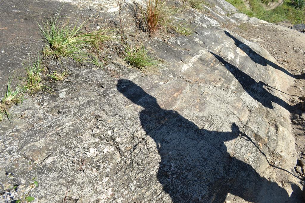Photograph walking shadows by Bikalpa Pandey on 500px
