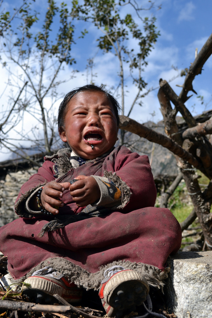 Photograph why cry? by Bikalpa Pandey on 500px