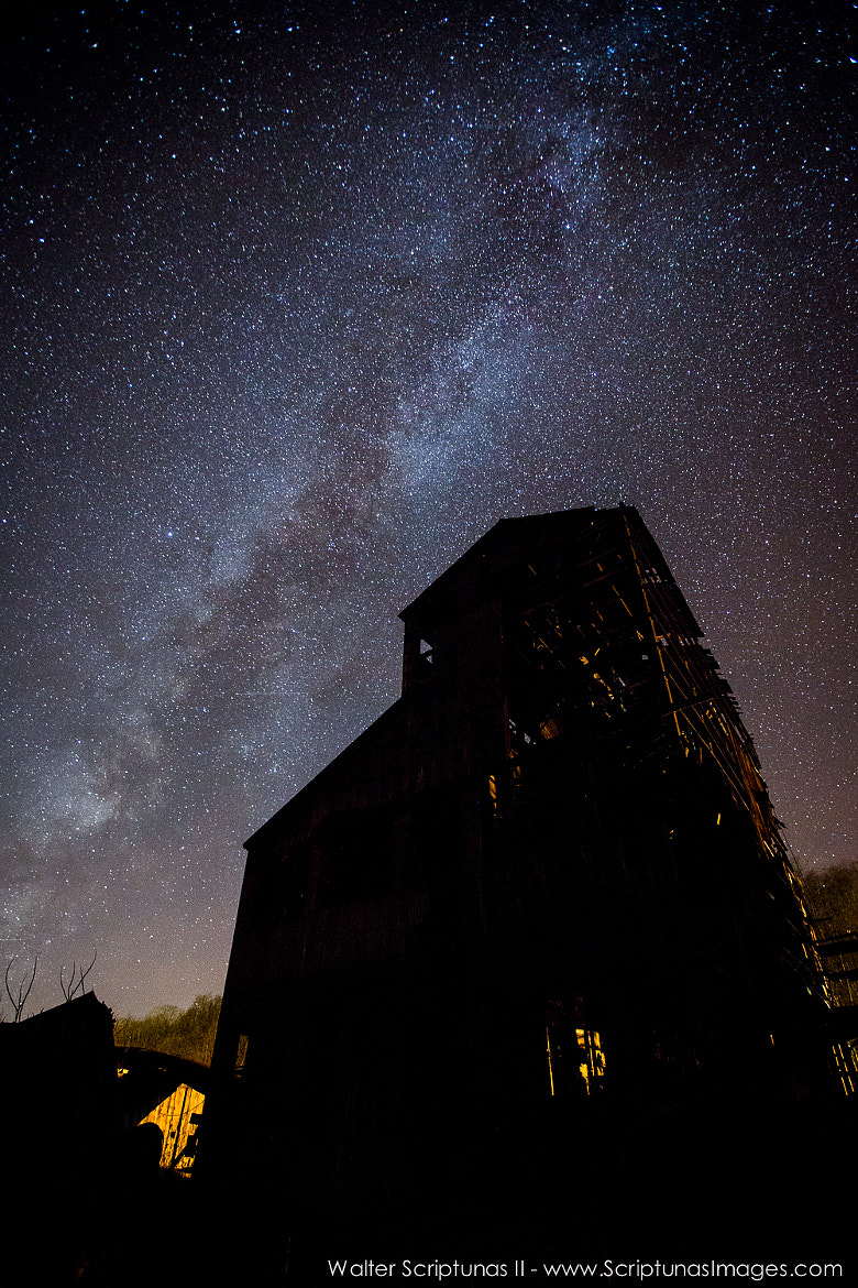 Photograph Milky Way over WV by Walter Scriptunas II on 500px