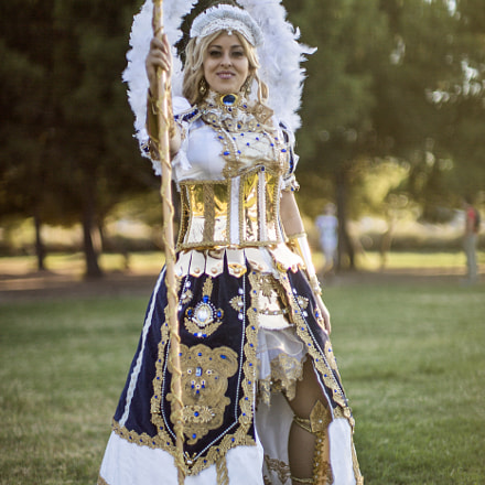Performing Art Cosplay, Canon EOS 5D MARK III, Canon EF 50mm f/1.0L