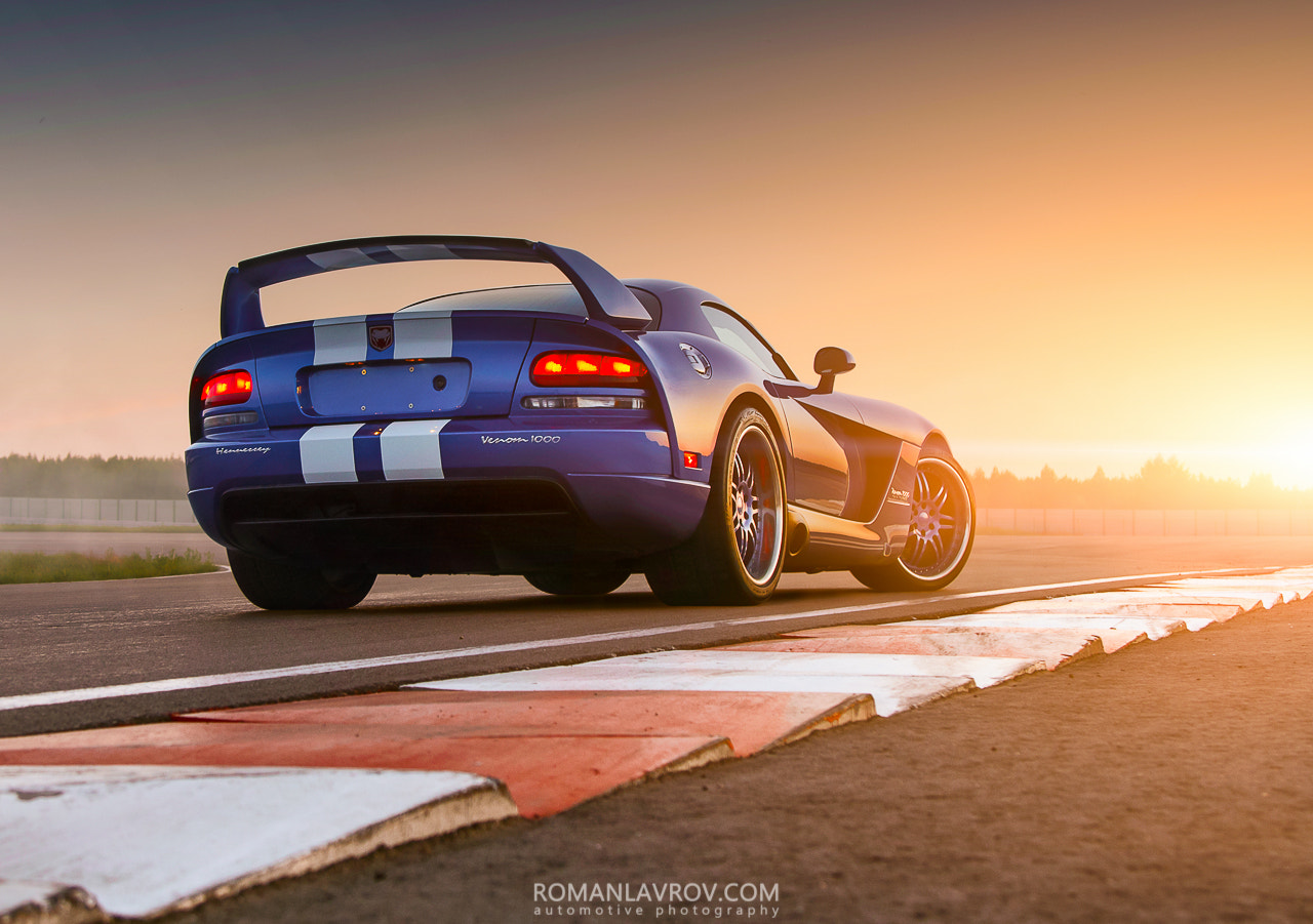 Photograph Dodge Viper Hennessey Venom 1000 by Roman Lavrov on 500px