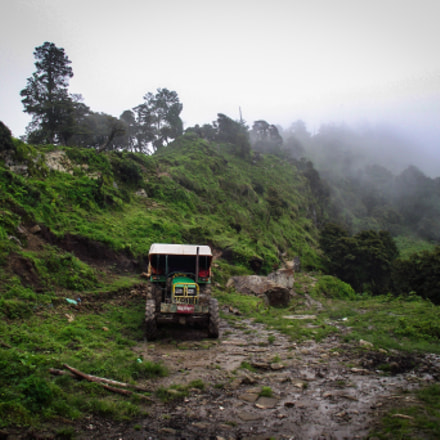 Tractor in the Himalayas, Fujifilm FinePix S1800