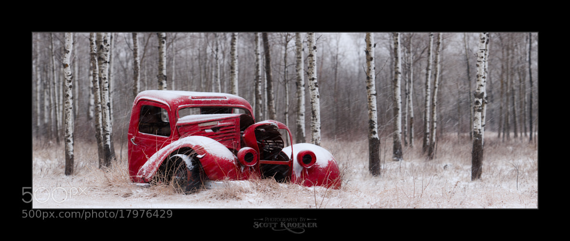 Photograph Old Red in Winter by Scott Kroeker on 500px