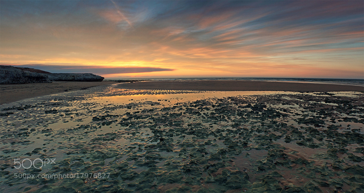 Photograph southport beach low tide by Sam Clark on 500px