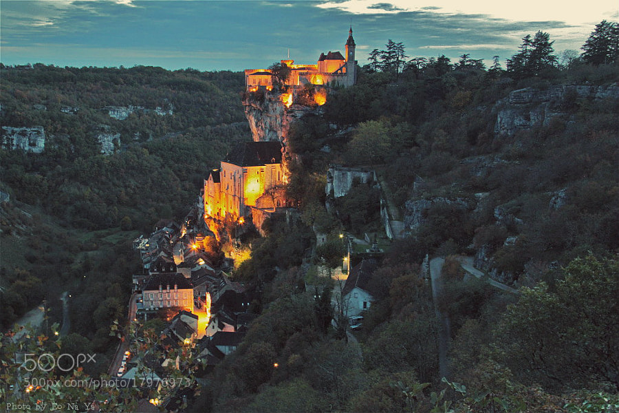 Photograph Rocamadour  by Eo NaYa on 500px