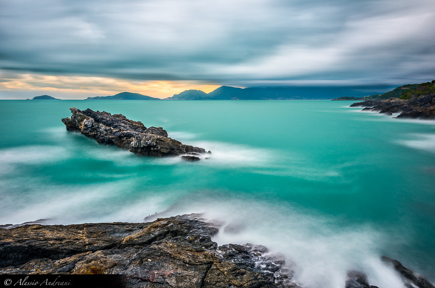 Photograph Blue & Green by Alessio Andreani on 500px