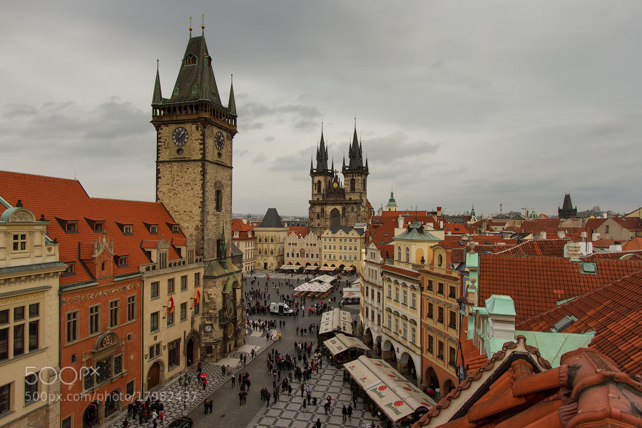 Photograph Old Town Square by Alexander Dragunov on 500px
