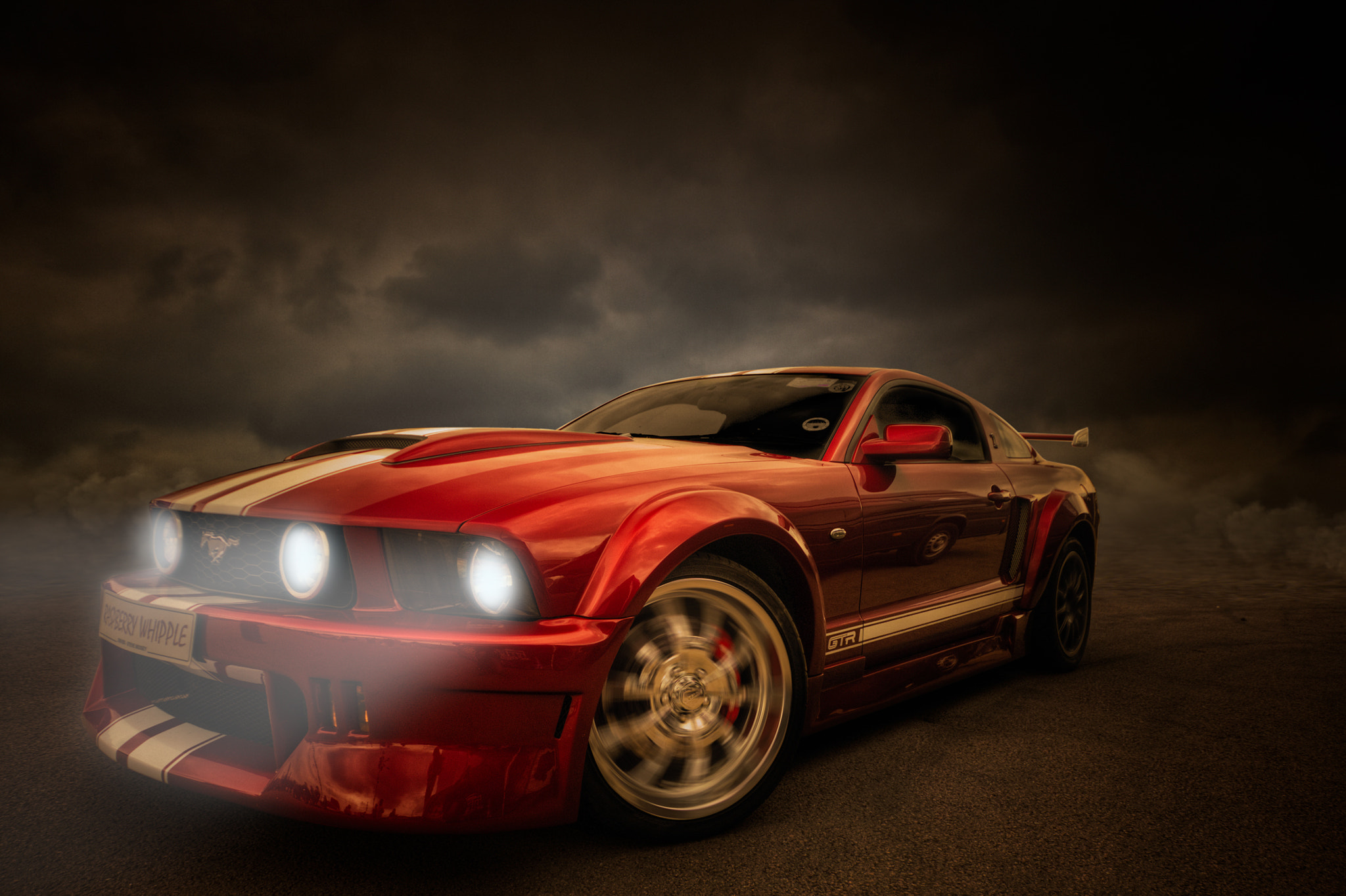Photograph MUSTANG  by Karl Batchelor on 500px