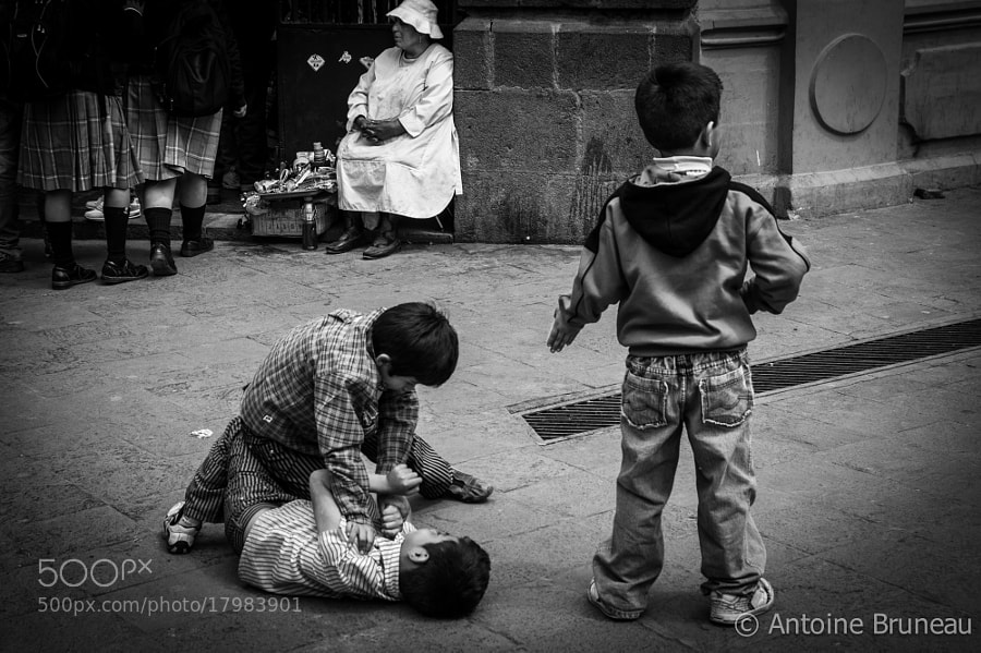 Street Squabbling