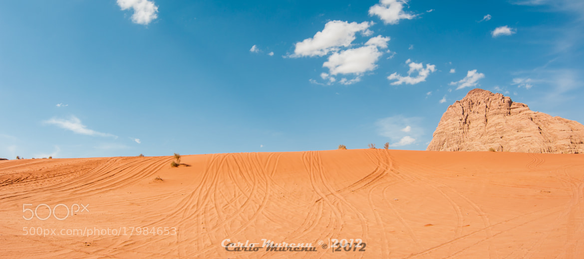Photograph Desert trails by Carlo Murenu on 500px