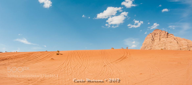 Photograph Desert trails by Carlo Murenu on 500px