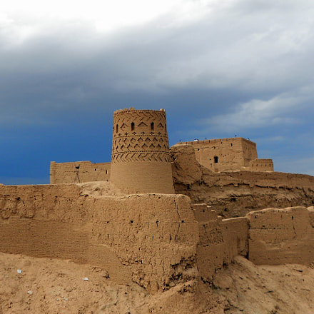Narin old Castle..., Nikon COOLPIX S2600