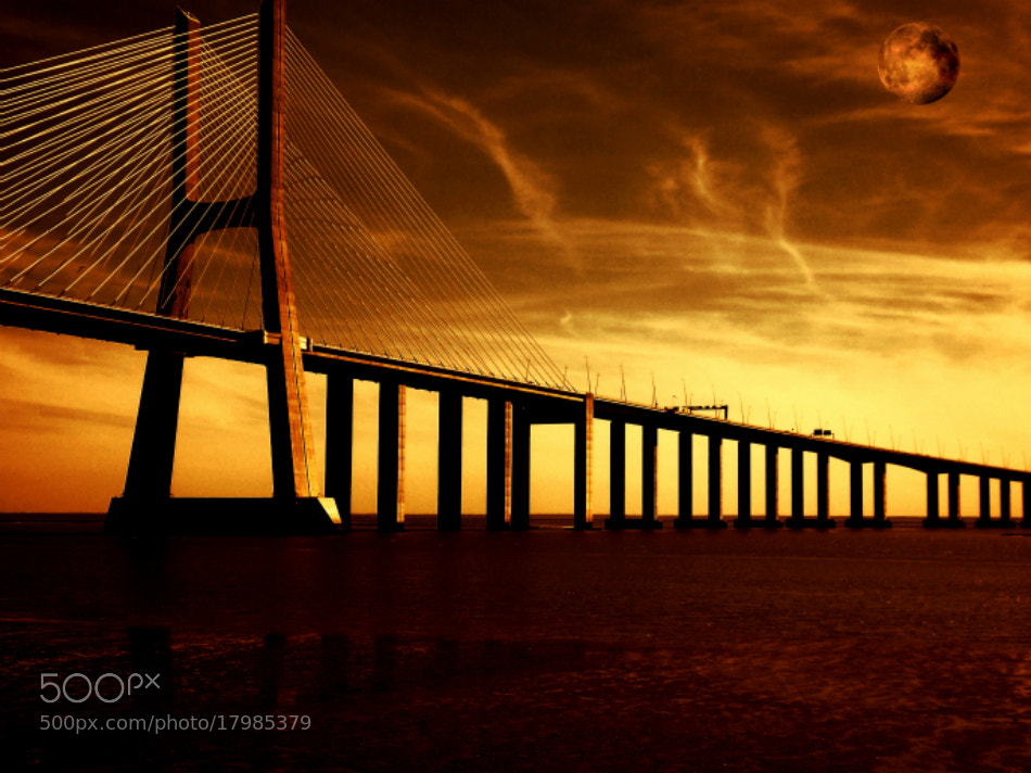 Photograph Ponte Vasco da Gama by Florindo Silva on 500px