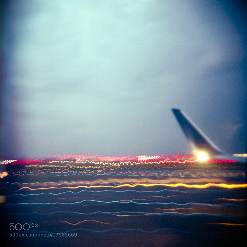 Photograph holga takeoff by Marc Dalio on 500px