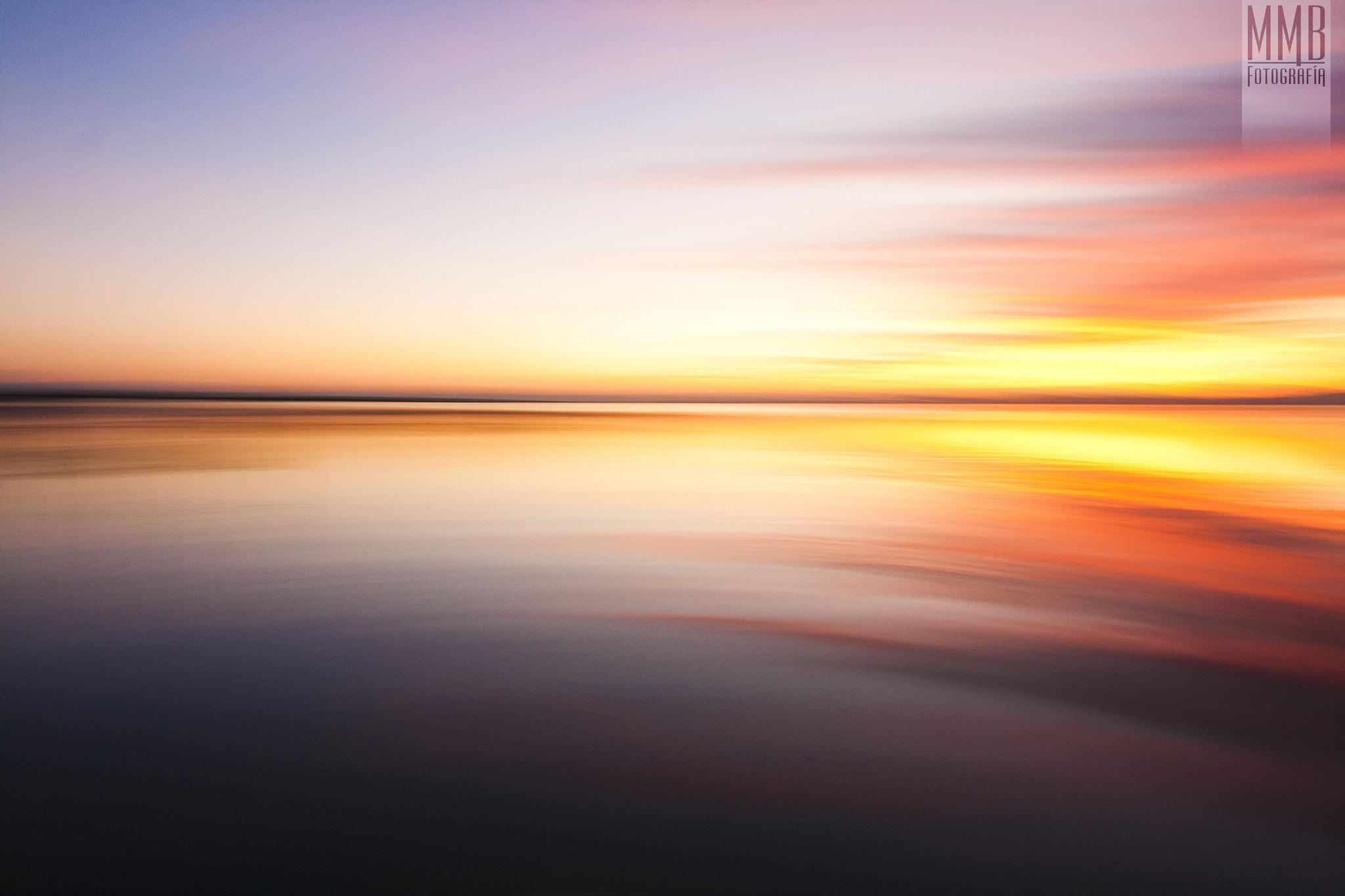 Photograph Abstract sunset by MMB Fotografía Adolfo Gris on 500px