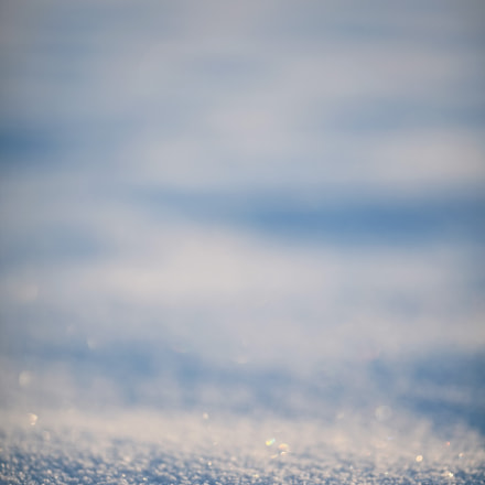 snow surface close-up, Canon EOS 5D MARK II, Canon EF 200mm f/1.8L
