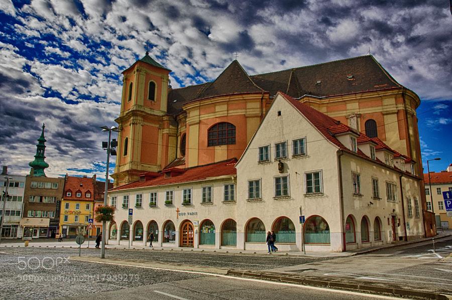 architecture, church, Slovakia, Bratislava