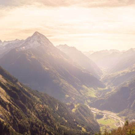 Alps bird view