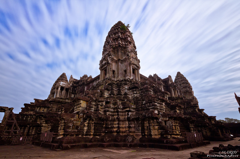Photograph The Heart of Angkor Wat Temple! by Mardy Suong Photography on 500px