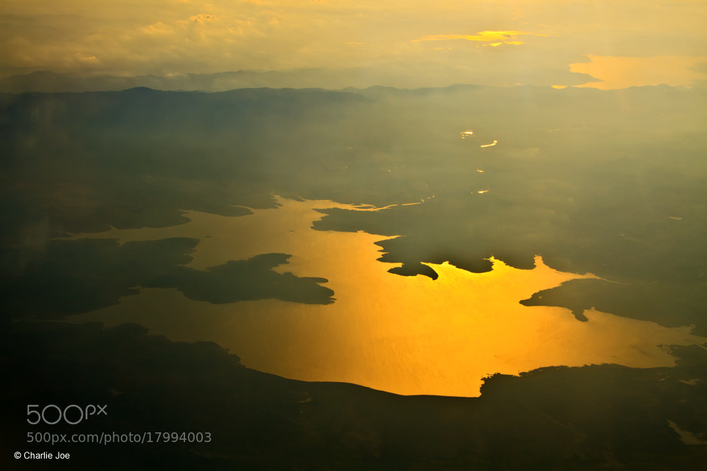 Photograph Golden lake by the misty mountain... by Charlie Joe on 500px