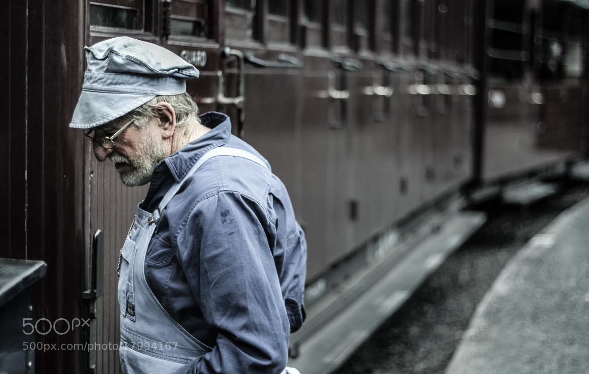 Photograph Puffing Billy Train Driver by Ashley Davies on 500px