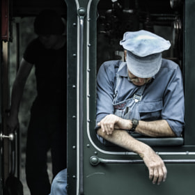 Puffing Billy Train Driver by Ashley Davies (AshleyDavies)) on 500px.com
