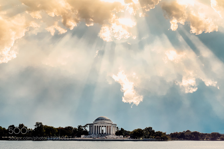 Jefferson Memorial from Afar