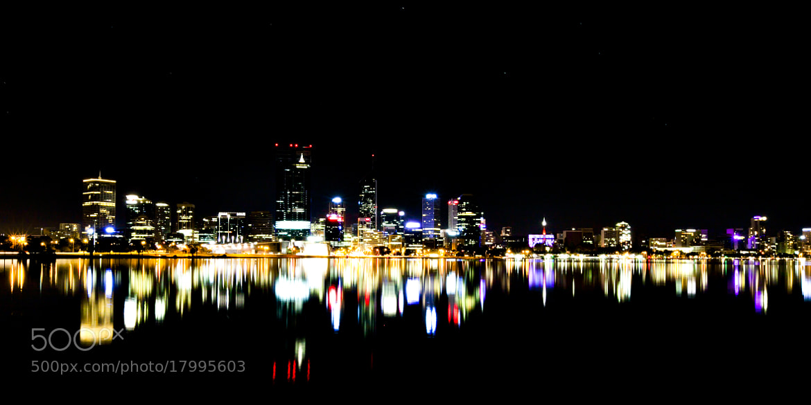 Photograph Perth at Night by Kurt Nigg on 500px