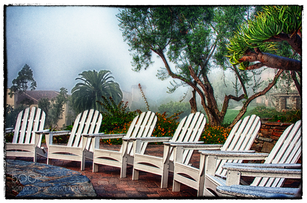 Photograph Foggy Seating by Duane Bender on 500px
