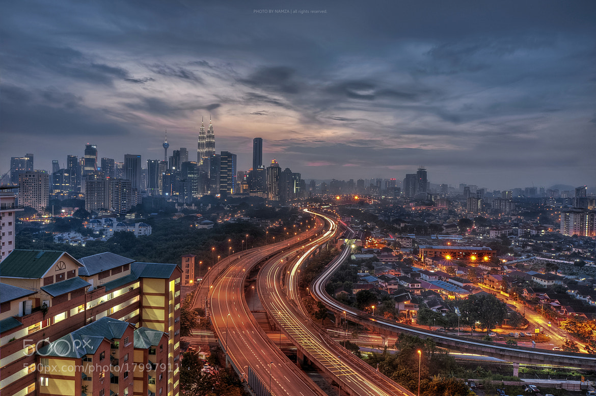 Photograph KL Night View by Azman Othman on 500px